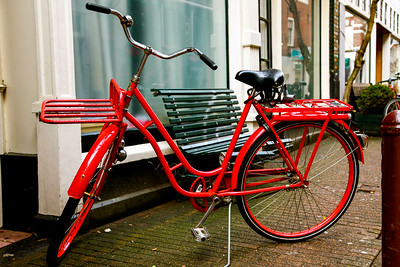 The Red Rider. Amsterdam, Holland.