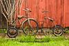 Rusty Tricycles, Red Oak II, Jasper County, Missouri