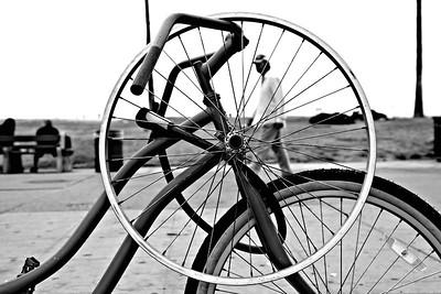 Wheel-man . Venice, CA.