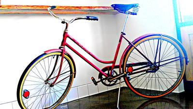 Call me a Classy Bike Girl. Venice, CA.
