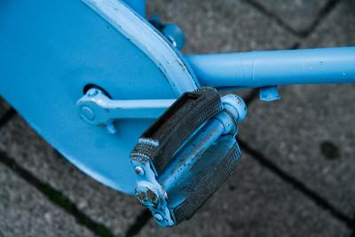 Pedal me Blue. Brugge, Belgium.