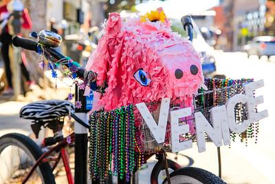 Bike Pig.  Santa Monica, CA.