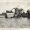 Wreck of Steamer Frontenac, Cayuga Lake. Burned July 27, 1907. (Photo ID: 50474)