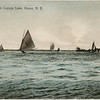Boating on Cayuga Lake, Ithaca, NY. (Photo ID: 43405)