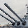 USS Alabama's 16-inch Gun Turret