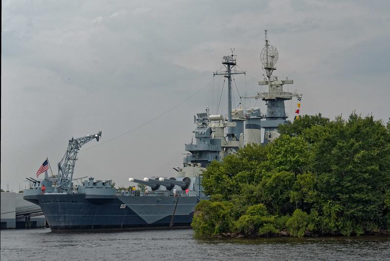 Wilmington's USS North Carolina