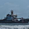 Coast Guard Coastal Buoy Tender off Jacksonville Beach