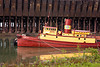The Edna G Tugboat at the Ore Docks, Two Harbors, Minnesota