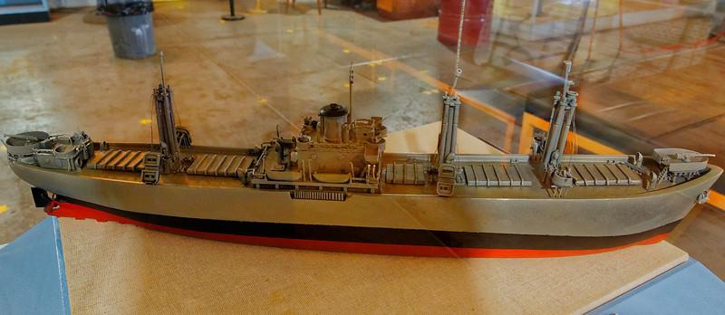 Model of a Liberty Ship