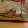 Model of a Liberty Ship
