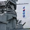 Superstructure of Battleship USS Alabama