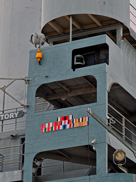 SS American Victory's Bridge and Ribbons