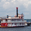 Sternwheel Riverboat docked at  Green Cove Springs