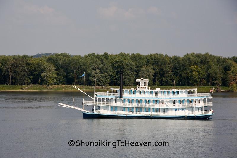 Twilight Riverboat, Jackson County, Iowa