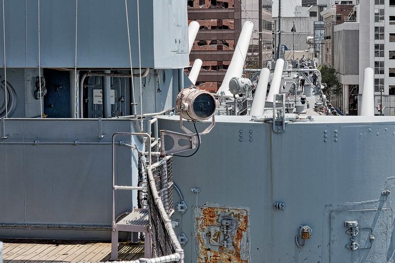 USS Wisconsin (BB-64) 12-Inch Signal Light
