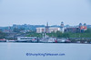 Kentucky Riverfront with Paddlewheel Boats, from Cincinnati, Ohio