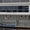 Stern of Sir Winston Luxury Yacht