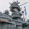 USS Alabama (BB-60)'s superstructure