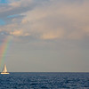 Rainbow and the Boat