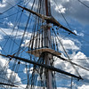 Old Ironside Masts
