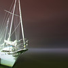Pamlico Bayview @ night in fog - original