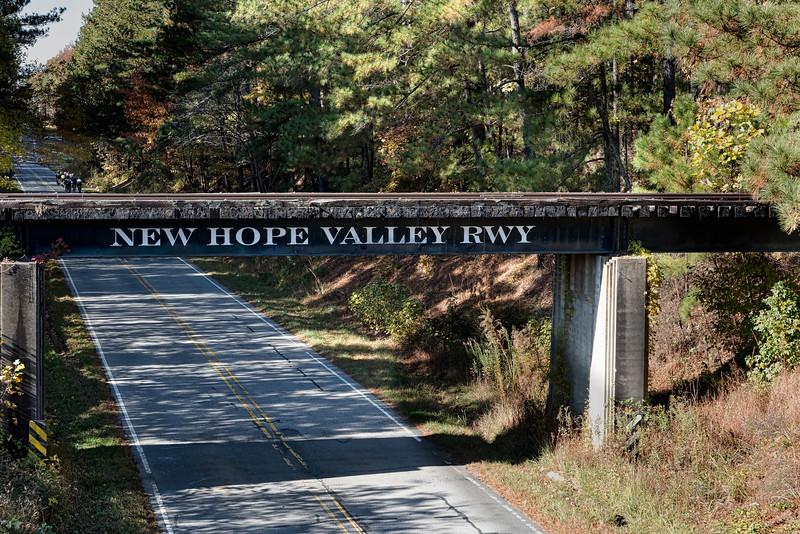 New Hope Valley Railroad Bridge over Old U.S. Highway 1