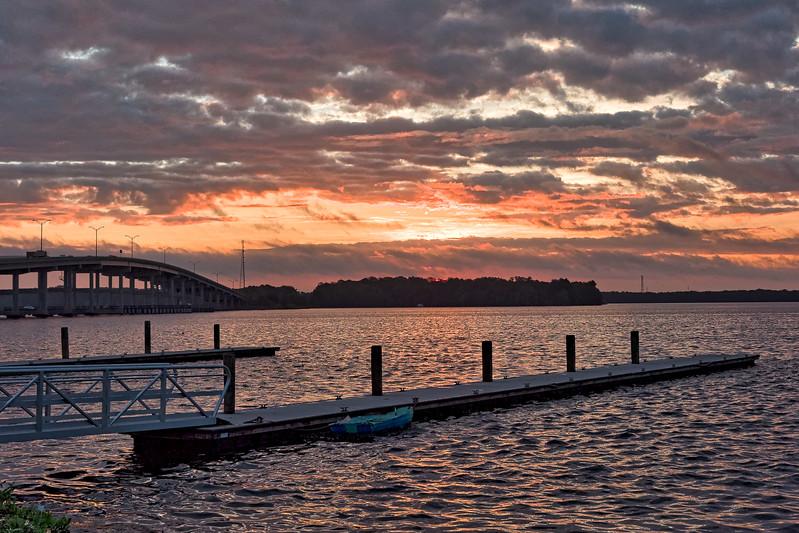 Palatka Riverfront Sunrise