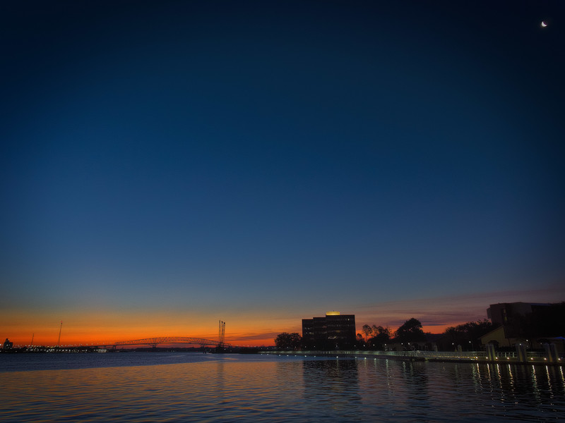 Hart Bridge at Sunrise