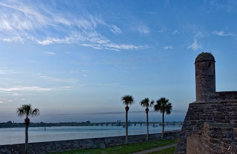 Bridge of Lions from Castillo de San Marcos