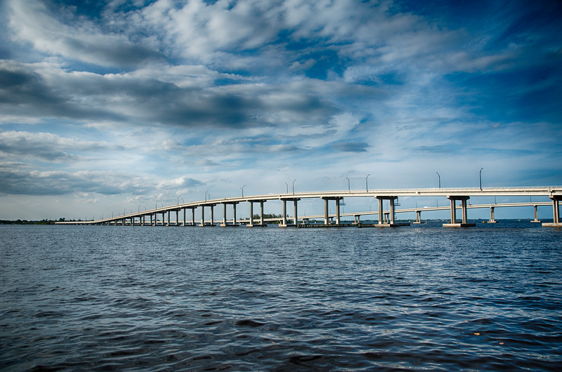 Edison Bridge over the the Caloosahatchee River