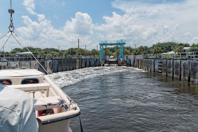 St. Johns Ferry dock at Mayport