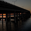 Sunrise Under the Memorial Bridge
