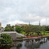 University of Tampa from Kennedy Bridge