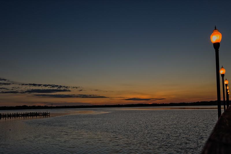 Sunrise At the Memorial Bridge