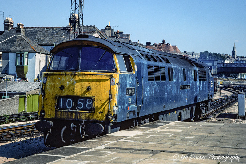 D1058 Western Nobleman at Plymouth 1976