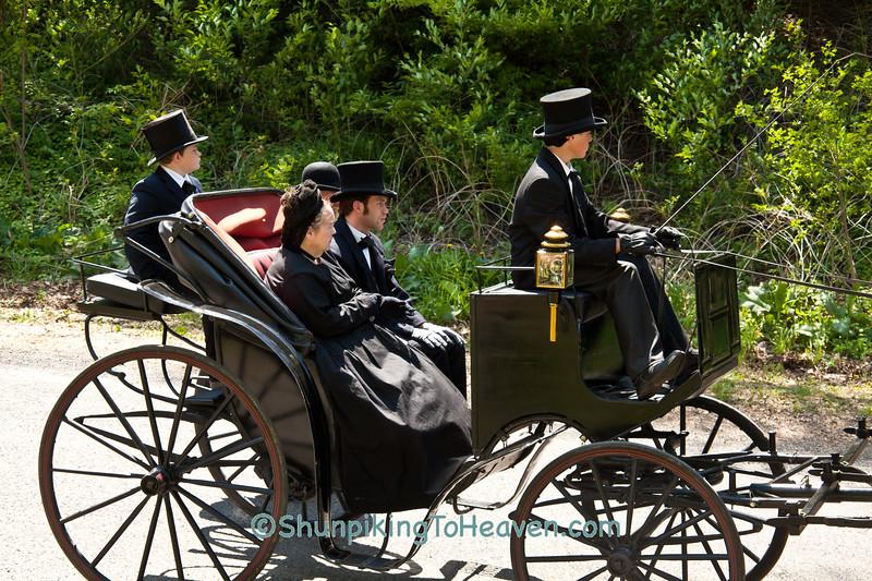 Reenactors Portraying Lincoln's Family, Springfield, Illinois