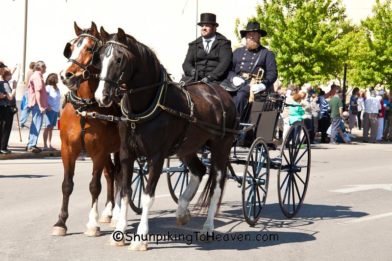 Horse-Drawn Carriage, Springfield, Illinois