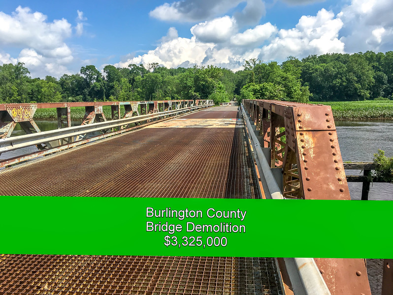 Burlington County Centerton Road Bridge Demolition