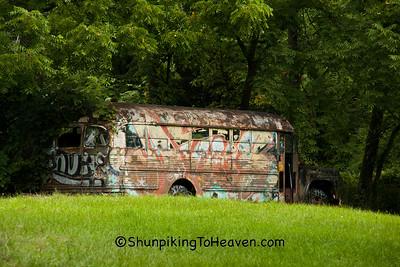 Graffiti Bus, Green County, Wisconsin