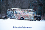 Graffiti Bus, Green County, Wisconsin, Green County, Wisconsin
