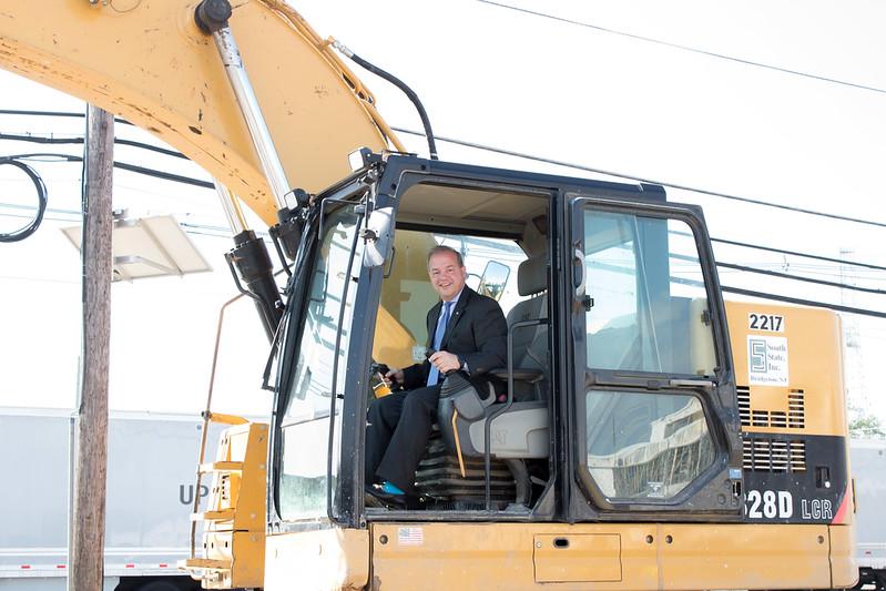Camden County Transportation Project Groundbreaking Ceremony