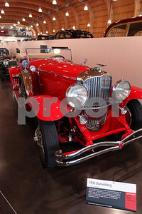 A 1930 Duensberg graces America's Car Museum in Tacoma, Washington.