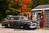 Vintage DeSoto at Old Gas Station, Houghton County, Michigan