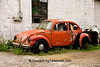 Abandoned Volkswagon Beetle, Highland County, Ohio