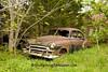 Rusty Old Chevrolet Car, Newton County, Arkansas