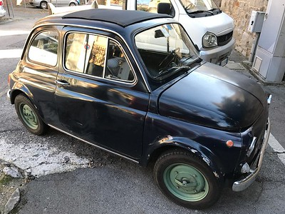 Nifty little Fiat 500's snapped all across the town of Trieste in Italy