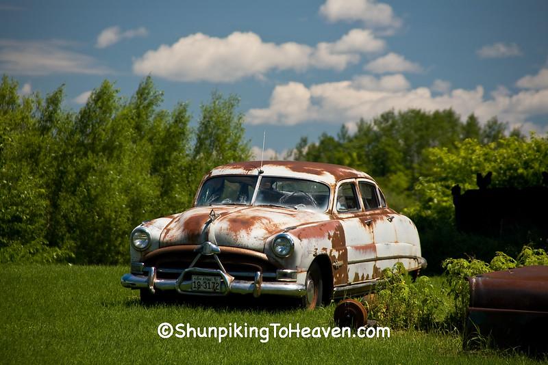 1950's Hudson Hornet, Douglas County, Wisconsin