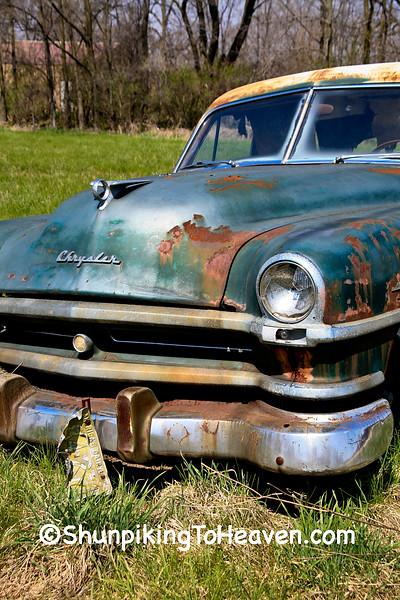 1950s Era Chrysler Windsor Deluxe, Rock County, Wisconsin