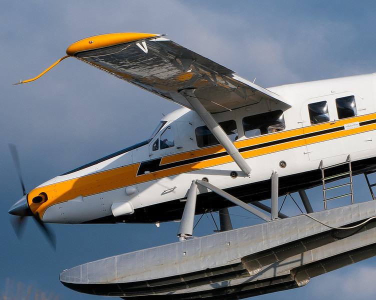 CAPTION: Turbine Otter Seaplane<br /> LOCATION: Lake Union Park, Seattle, Washington State<br /> DATE: 2-26-12<br /> NOTES:<br /> HEADING: