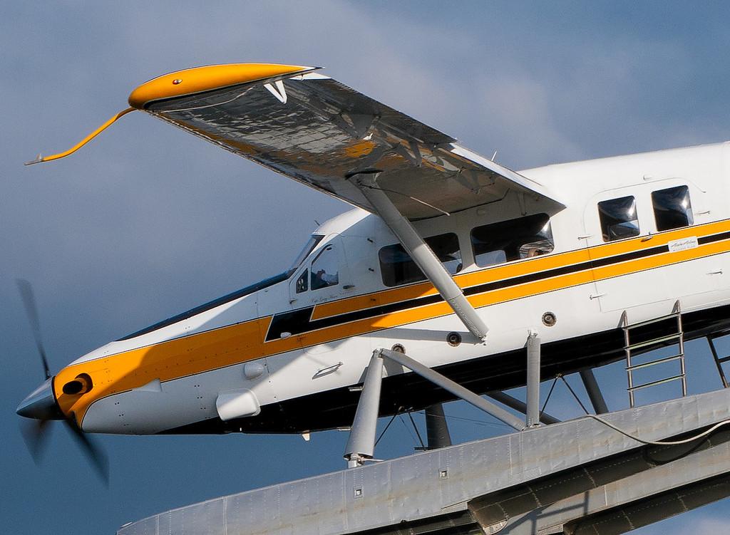 CAPTION: Turbine Otter Seaplane<br /> LOCATION: Lake Union Park, Seattle, Washington State<br /> DATE: 2-26-12<br /> NOTES:<br /> HEADING: